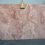 RED TRAVERTINE CROSS CUT HONED