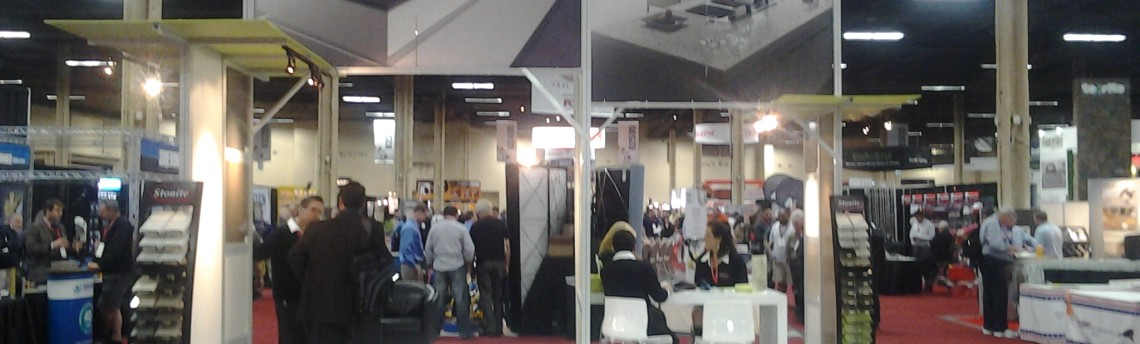 2014 Trade Show in LV for Stonite