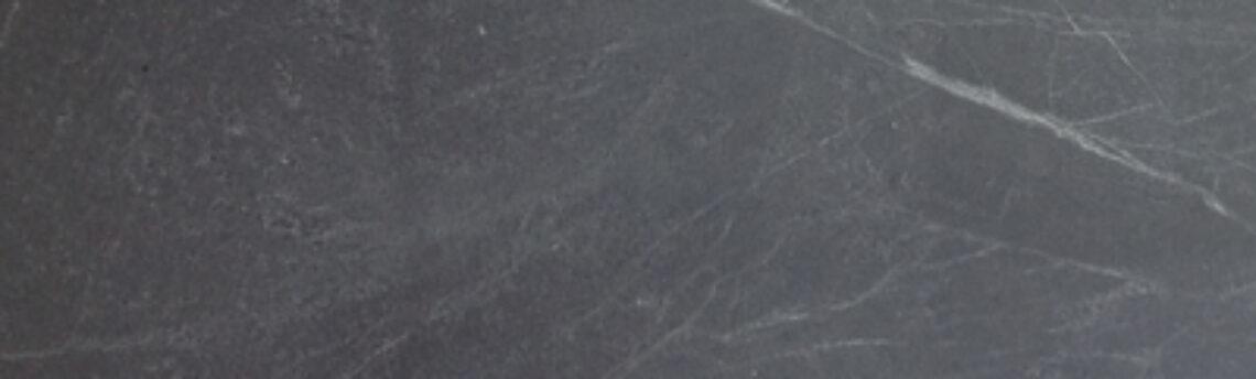 BLACK SOAPSTONE LEATHER 3CM